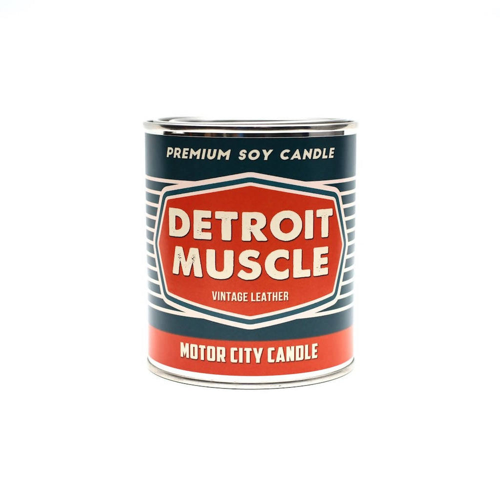 Detroit Muscle 100% Soy Candle - 13 oz