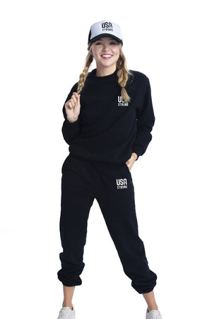 Load image into Gallery viewer, Krissy Sweatshirt Black