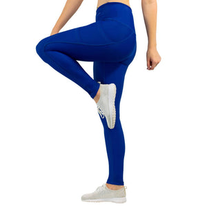 Load image into Gallery viewer, 3-Pocket Dart Leggings - Space Blue