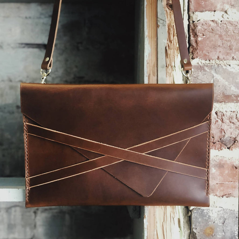 The Envelope Leather Purse