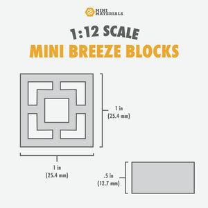 Load image into Gallery viewer, Mini Breeze Block Empress Pallet - 24 Pack