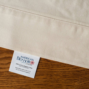 Load image into Gallery viewer, American Made Organic Cotton Sheets - 4 sizes - Natural
