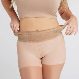 Light Nude Pantyhose, Sheer With Comfort Top