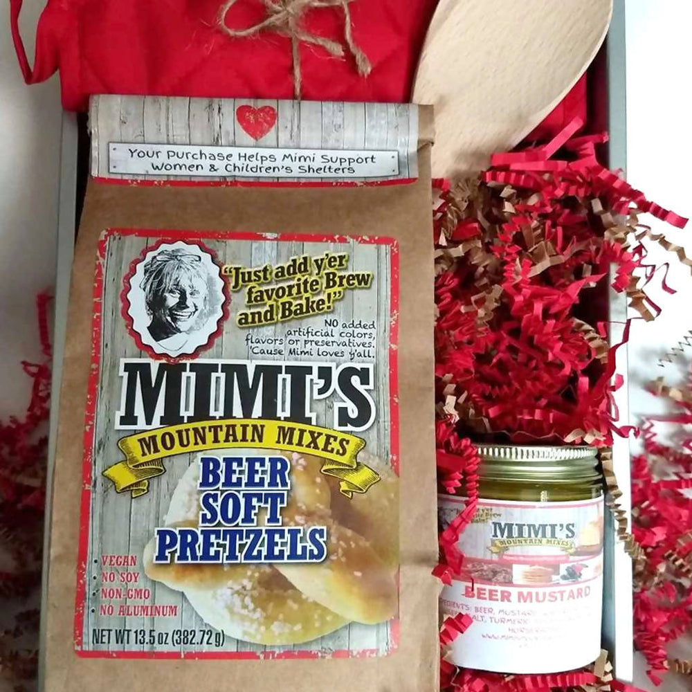 Mimi's Soft Pretzels & Mustard Sauce - Make at Home Kit