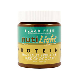 Nutilight Protein Plus Hazelnut Spread & Dark Chocolate