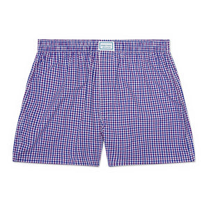 Load image into Gallery viewer, The Murray Hill Plaid Boxer - Multi