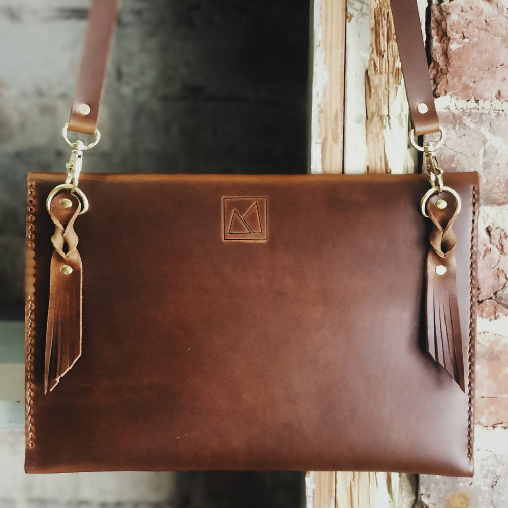 Load image into Gallery viewer, The Envelope Leather Purse