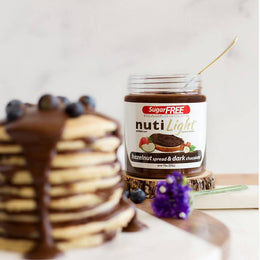 Nutilight Hazelnut Spread & Dark Chocolate