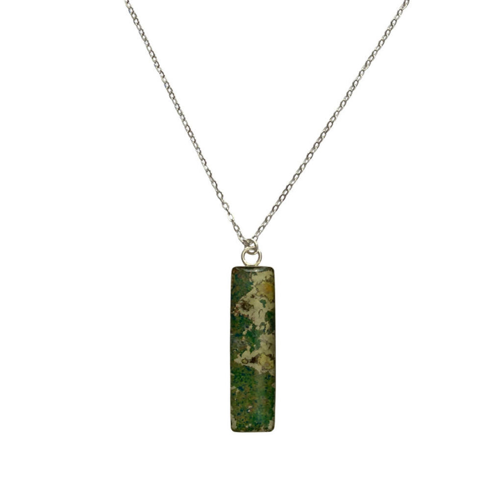 Load image into Gallery viewer, Nechelle Pendant Necklace - Silver