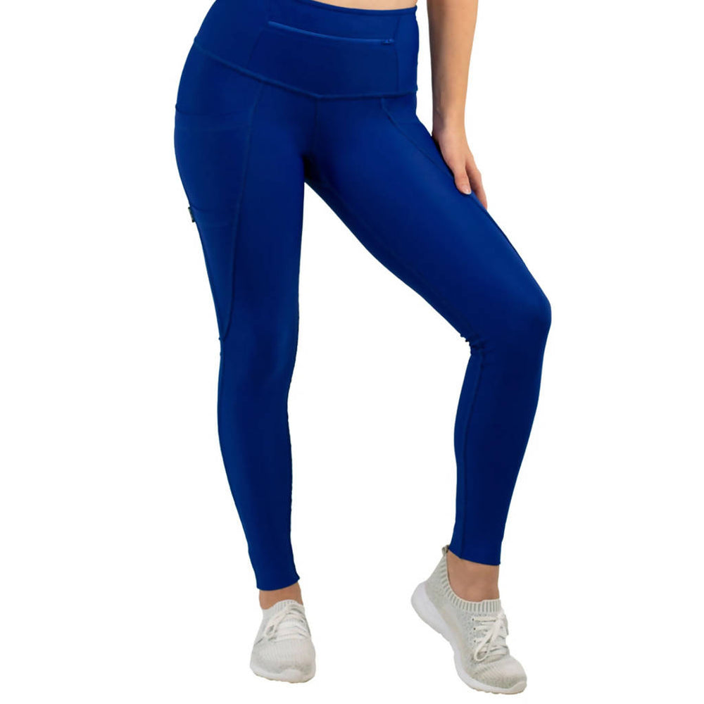 3-Pocket Dart Leggings - Space Blue