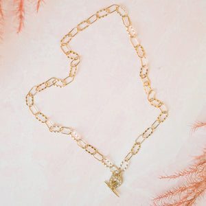 Load image into Gallery viewer, ESME CHAIN NECKLACE - GOLD