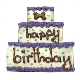 Birthday Cake Dog Treats - 8 or 12 pack