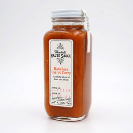 Habanero Carrot Curry Sauce - 5 oz.