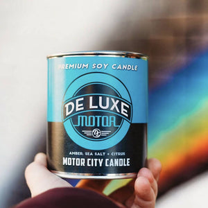 Load image into Gallery viewer, De Luxe 100% Soy Candle - 13 oz