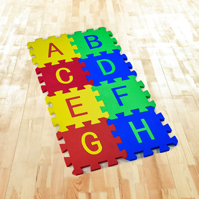 ALPHABET & NUMBER FLOOR MAT