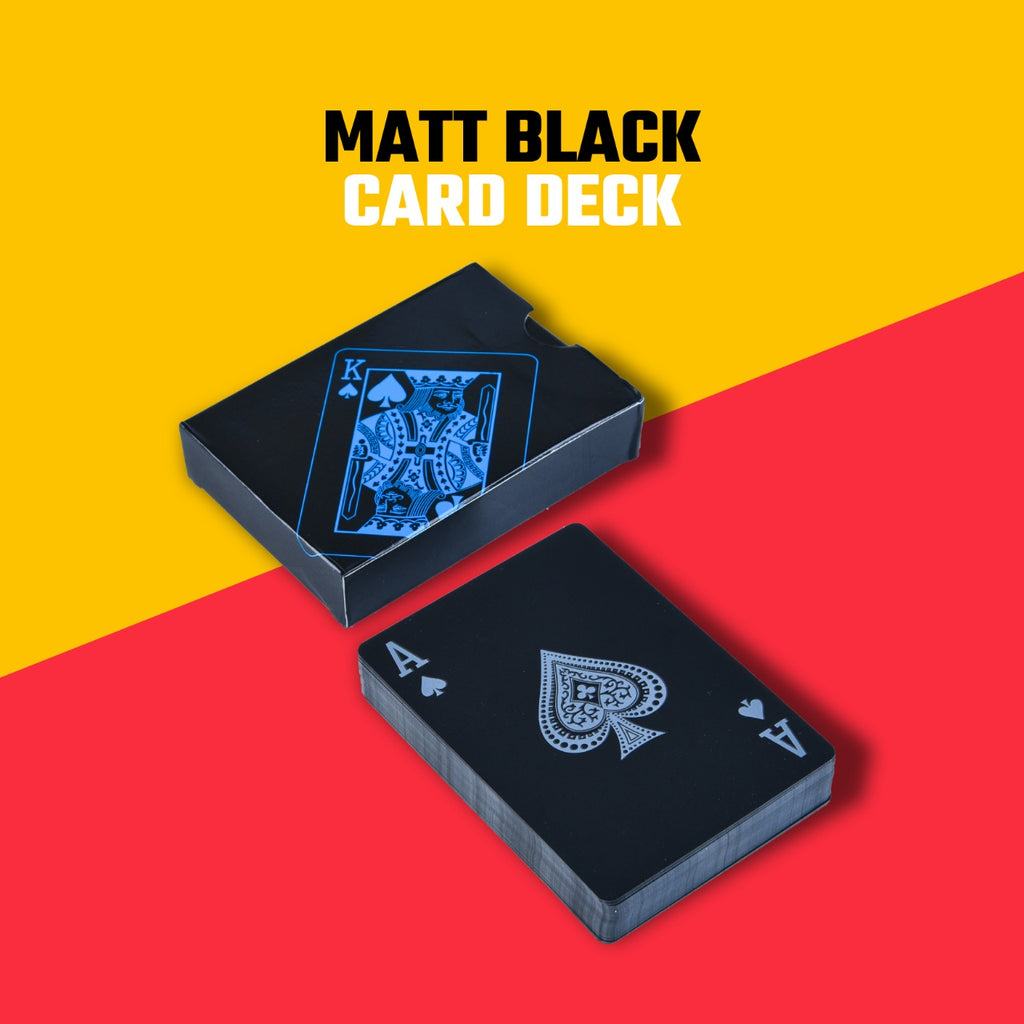 MATT BLACK CARD DECK