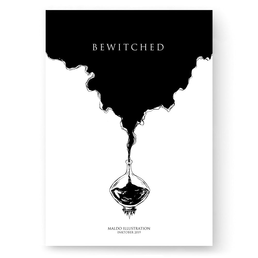 BEWITCHED - Inktober 2019