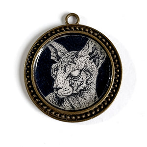 BLIND CAT - Pendant