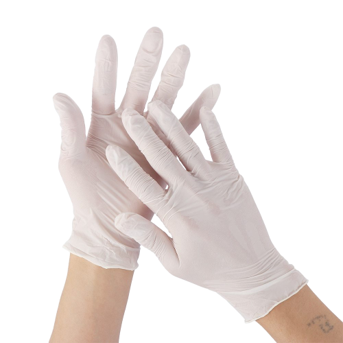 Latex Medical Exam Gloves, Box of 100 Gloves (Powder-Free) - The Glove Store
