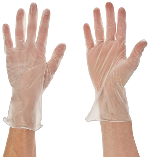 Vinyl Medical Exam Gloves, Box of 100 Gloves (Powder-Free) - The Glove Store
