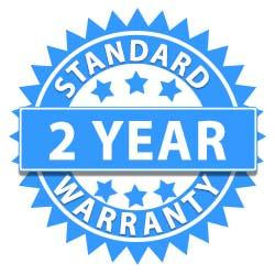 2 YEAR STANDARD WARRANTY INCLUDED