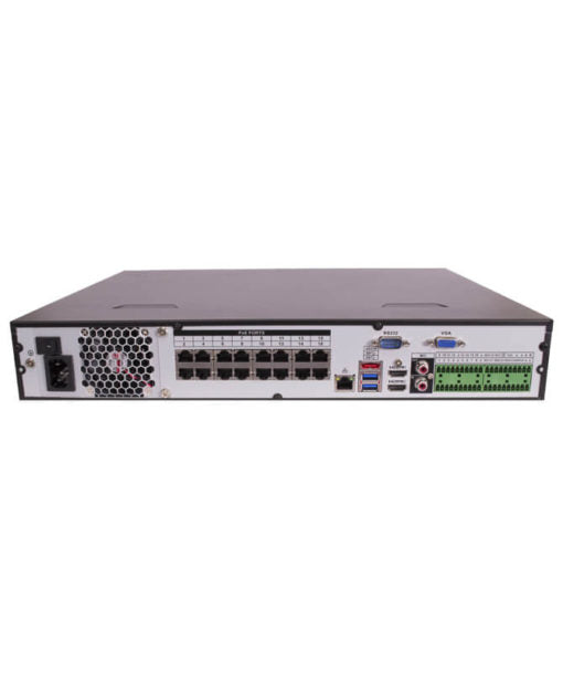 Montavue MNR12326-16 32 Channel 4K Ultra HD NVR w/ 6TB Hard Drive, 16 PoE Ports, MontavueGO Remote Connectivity, ONVIF Compliant, & 40TB HDD Capacity