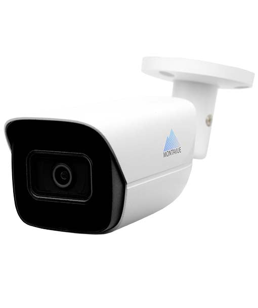 Montavue-5MP Smart Motion AI Bullet Camera -  AI Functionality, Smart Motion Detect, Built-in Mic, 164ft IR Night Vision