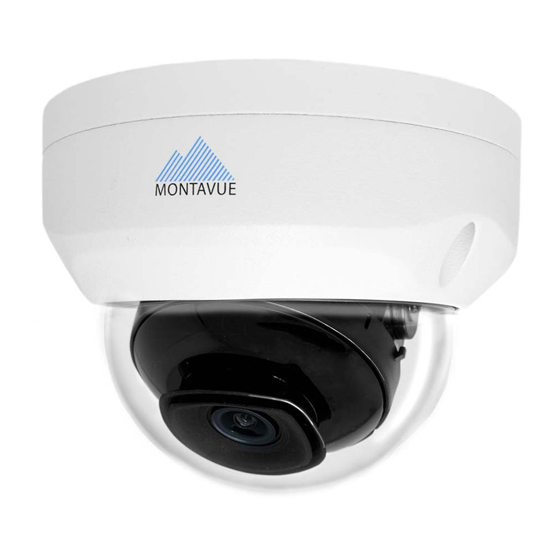 Montavue MTD4102 2K 4MP Indoor/Outdoor HD IP Vandal Dome Camera with Color Night Optics Night Vision