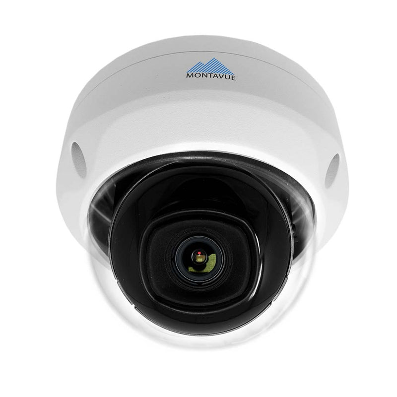 Montavue- Residential Security Camera System w/ 4 2K Bullet Cameras and 4 2K vandal Dome Cameras