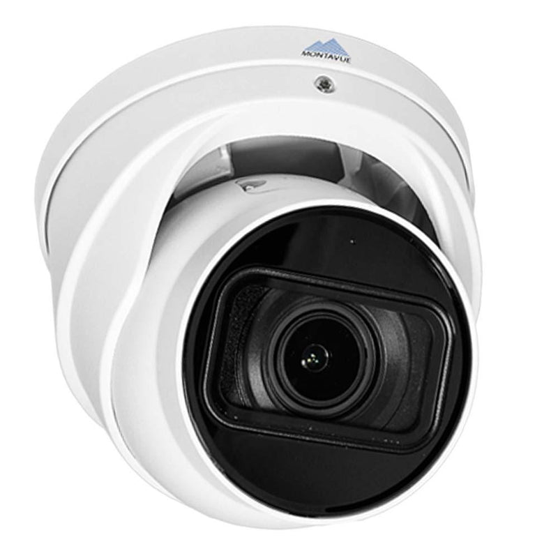 Montavue 8MP Smart Motion Varifocal Turret Camera -  AI Functionality, Smart Motion Detect, 4x Zoom, 165ft IR Night Vision- Montavue MTT81130-V-AISMD