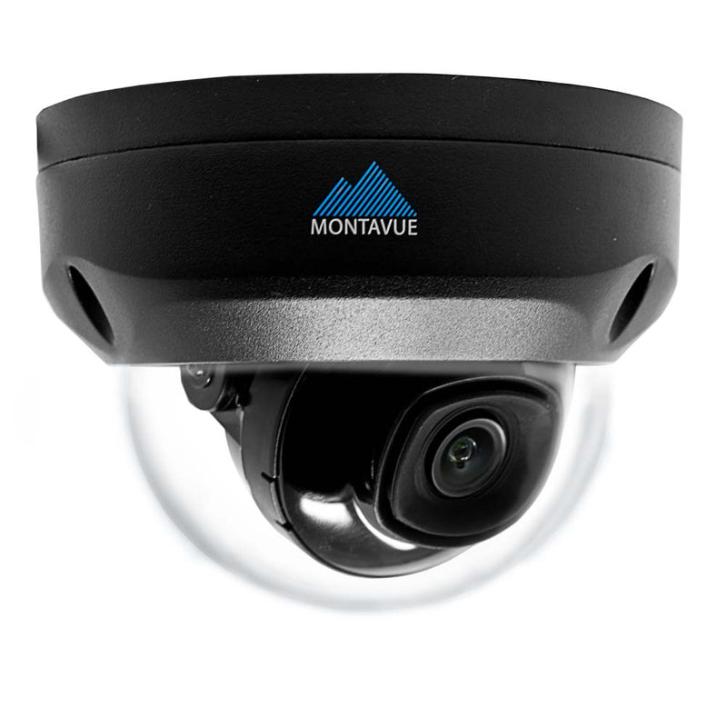 Montavue-Home Security System w/ 8 2K 4MP Vandal Dome Cameras, 2TB HDD