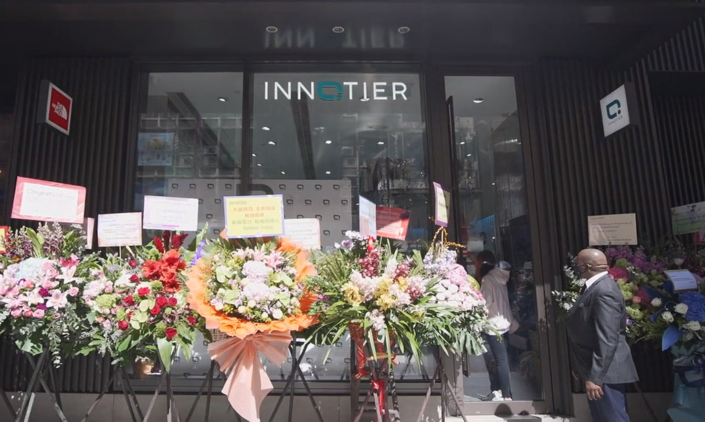 INNOTIER's First Flagship Store was opened in Central on the 7th February 2021