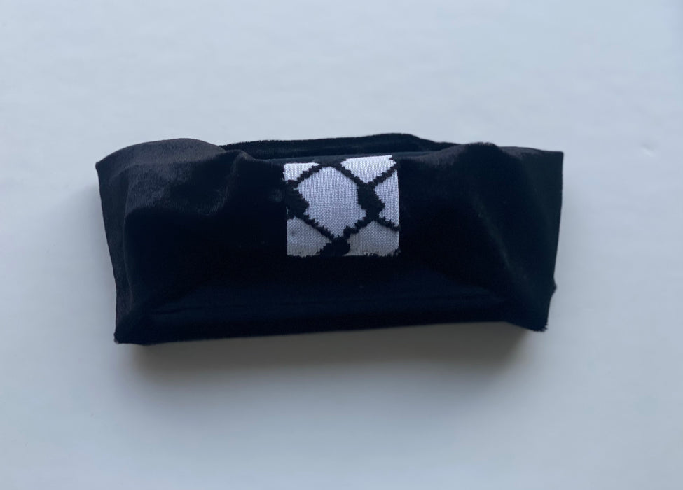 BLACK VELVET FALESTEEN TURBAN