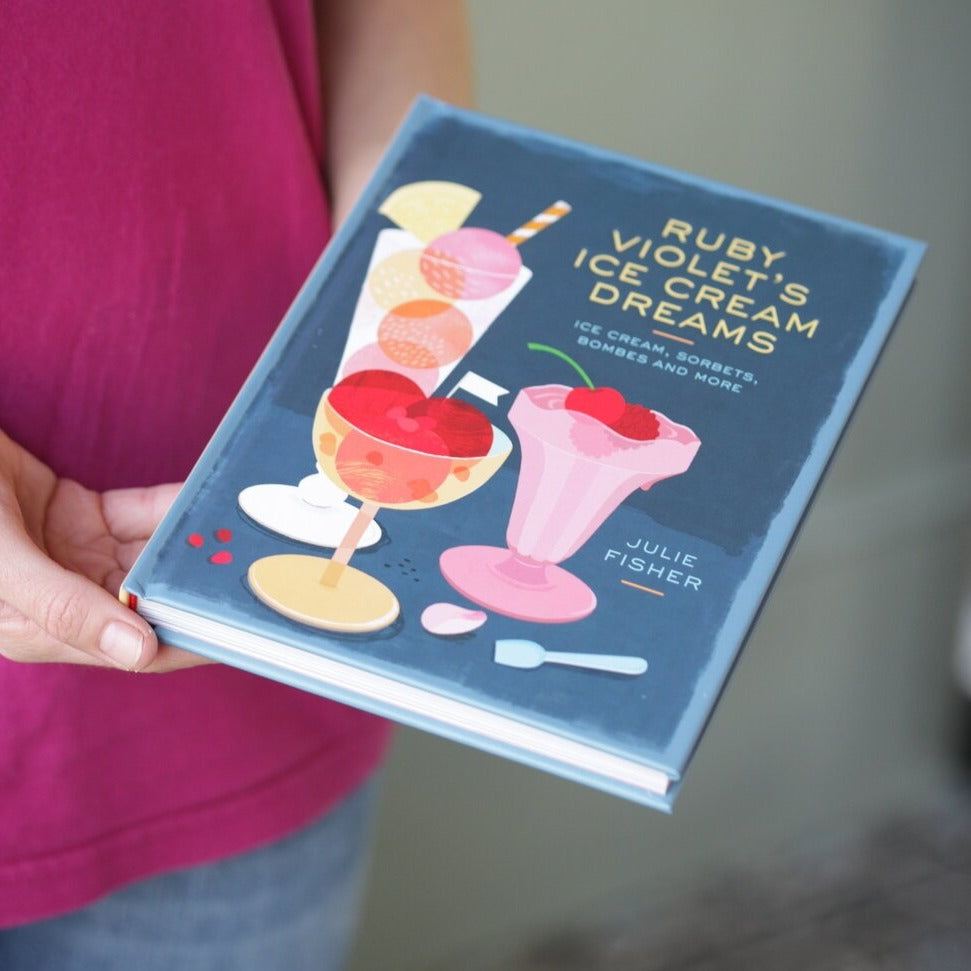 Ruby Violet's Ice Cream Dreams Recipe book