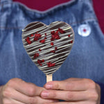 Load image into Gallery viewer, Heart-shaped ice cream on stick