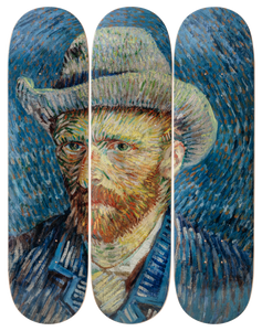 Vincent Van Gogh Self-Portrait With Grey Felt Hat