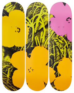 Andy Warhol Flowers Lime/Orange