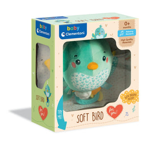 Baby Clementoni for you - Soft bird
