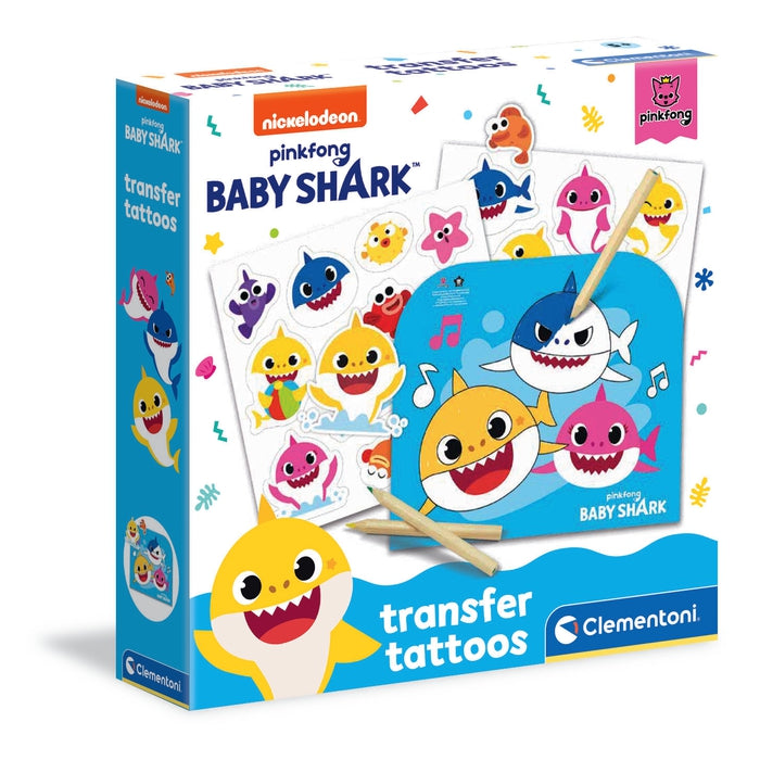 Baby Shark - Transfer tattoos