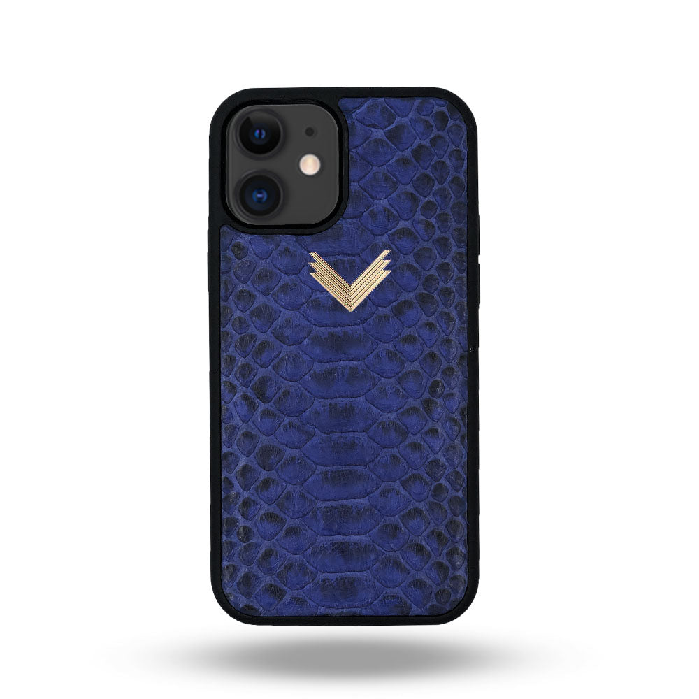 Rubber Python Leather iPhone 11 Case