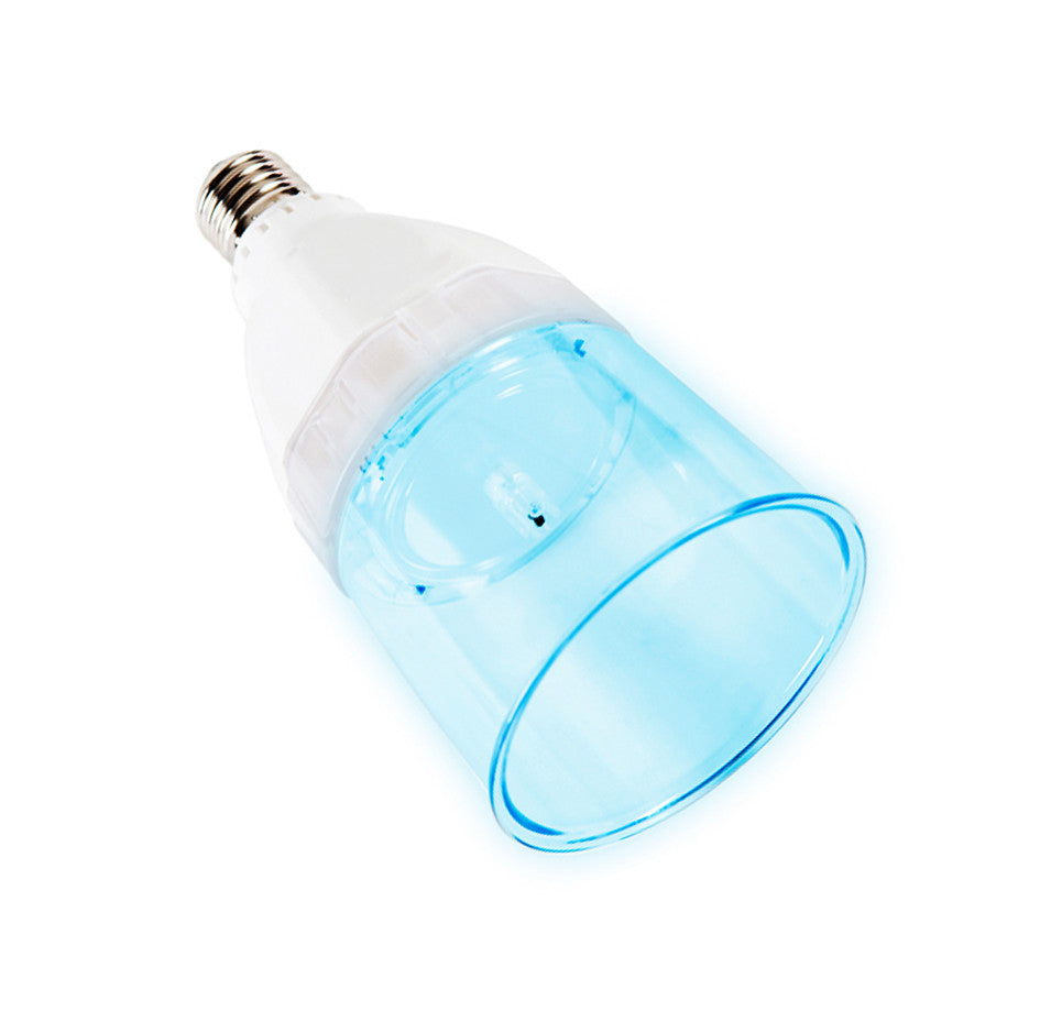 4 watt (40W replacement) LED Light Bulb with Built-In Anion Air Purifier/ Negative Ion Generator - [BN106B] Blue
