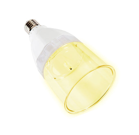 4 watt (40W replacement) LED Light Bulb with Built-In Anion Air Purifier/ Negative Ion Generator - [BN106Y] Yellow
