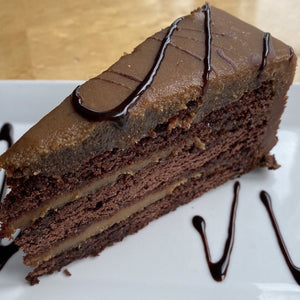CHOCOLATE CARMEL CAKE