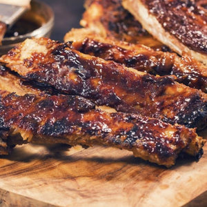 BBQ RIBS GRILL AT HOME