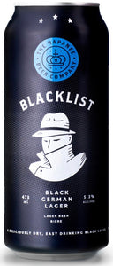 NAPANEE BLACKLIST BLACK GERMAN LAGER