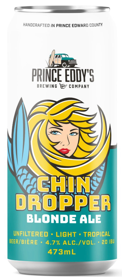 PRINCE EDDY'S CHIN DROPPER BLONDE ALE