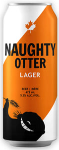 GAN BREWING COMPANY NAUGHTY OTTER LAGER