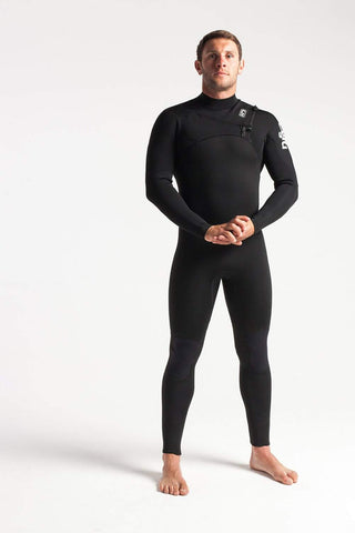 C Skins Session 5/4 Chest Zip Wetsuit - Second Skin Surfshop
