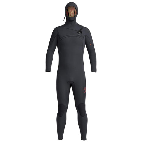 Xcel Comp X 5.5/4.5 Hooded Wetsuit Black - Second Skin Surfshop