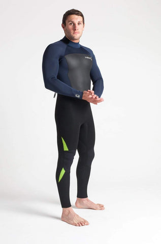 C Skins Legend 4/3 Back Zip Wetsuit Navy - Second Skin Surfshop